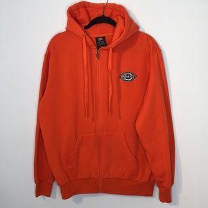 Dickies bright orange hoodie sweatshirt